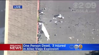 LIVE: Aliso Viejo Deadly Explosion