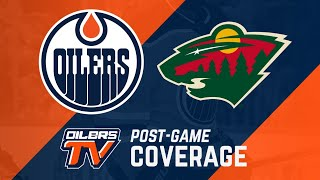 ARCHIVE | Oilers Post-Game Interviews vs Wild
