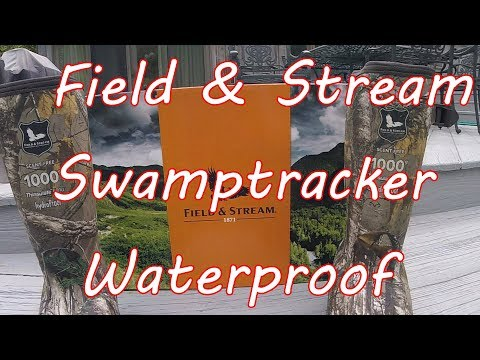 Swamptracker Hunting Boot By Field & Stream - Review & Field Tested