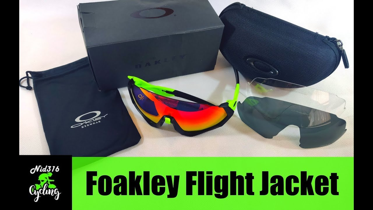 a37d9c526191a Oakley Flight Jacket Sunglasses First Impressions and Unboxing Foakley  Chinese Fake AliExpress