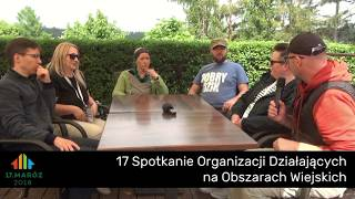 Maróz 2018 - rozmowa sołtysów na temat szacowania szkód łowieckich