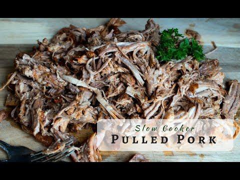Slow Cooker Pulled Pork | Crock Pot BBQ Pulled Pork (Updated Version)
