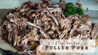 Slow Cooker Pulled Pork   Crock Pot BBQ Pulled Pork (Updated Version)