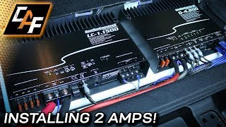 Installing Two Amplifiers - Can I get MORE BASS?