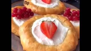 Рецепт ПП ватрушек