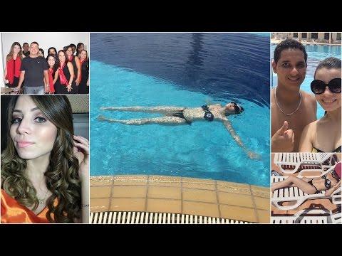 Vlog Dia 31/12/14: Verão, piscina e Meu Réveillon #1!