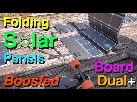 Folding Solar Panels - Boosted Board Backpack Solar - Part 3