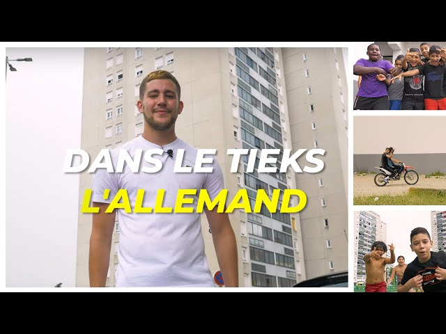 L'Allemand fait visiter Les Minguettes (Venissieux - Lyon) | Dans le tieks - Alohanews