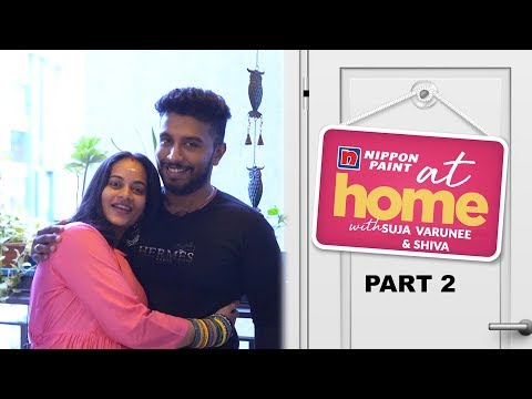 Ep 2| At Home with Bigg Boss fame Suja & Shiva |She is a great cook| JFW