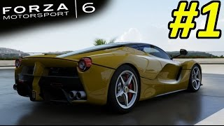 Forza Motorsport 6 Gameplay Walkthrough Part 1
