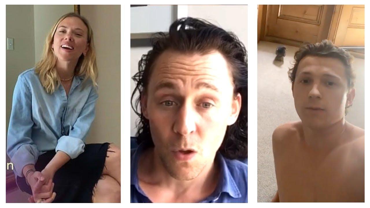 Marvel Cast During Quarantine, Part 24 | Tom Hiddleston, Tom Holland, Scarlett Johansson