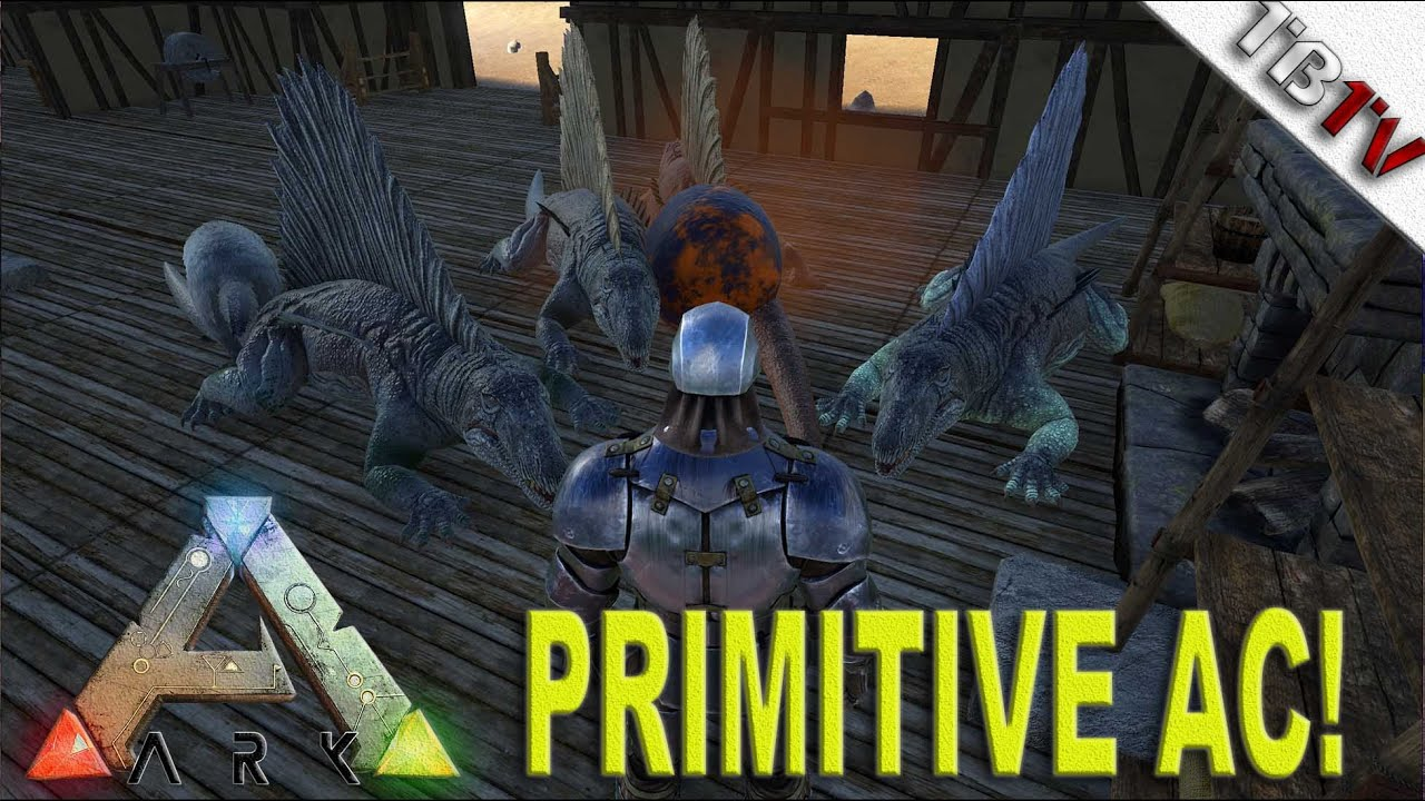 primitive ac units! ark: primitive+ - ark survival evolved s2e6