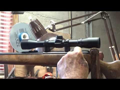 Glenfield Model 20 22 Rifle Zip Tie Scope Mount 8 8 16