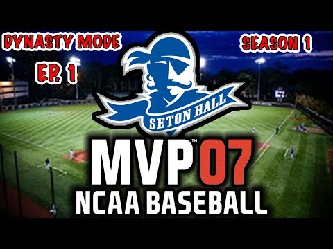 *NEW SERIES* MEET THE SQUAD!! |  ROAD TO THE COLLEGE WORLD SERIES | MVP NCAA 07 REBUILD EP1