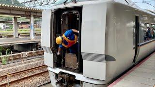 特急しらさぎ金沢行き 米原駅での増結作業