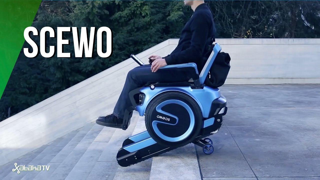 silla de ruedas sube escaleras