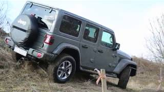Jeep Wrangler Unlimited Sahara 2.2 test