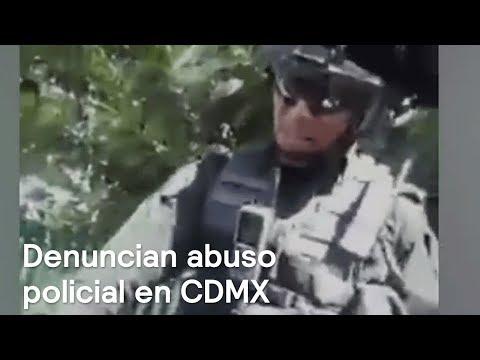 Denuncian abuso policial en Vasco de Quiroga, en la CDMX - Las Noticias con Danielle