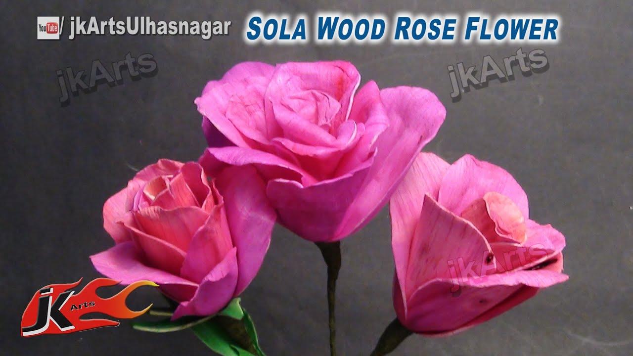 DIY Rose Flower making | How to make flower | JK Arts 617 - YouTube