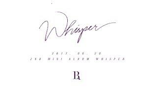 빅스LR VIXX LR 2nd Mini Album 39 Whisper 39