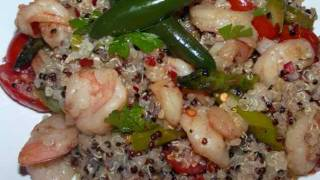 Quinoa With Shrimp And Asparagus - Naturally Gluten Free