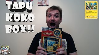 Tapu Koko Pin Box - Pokémon Booster Opening!