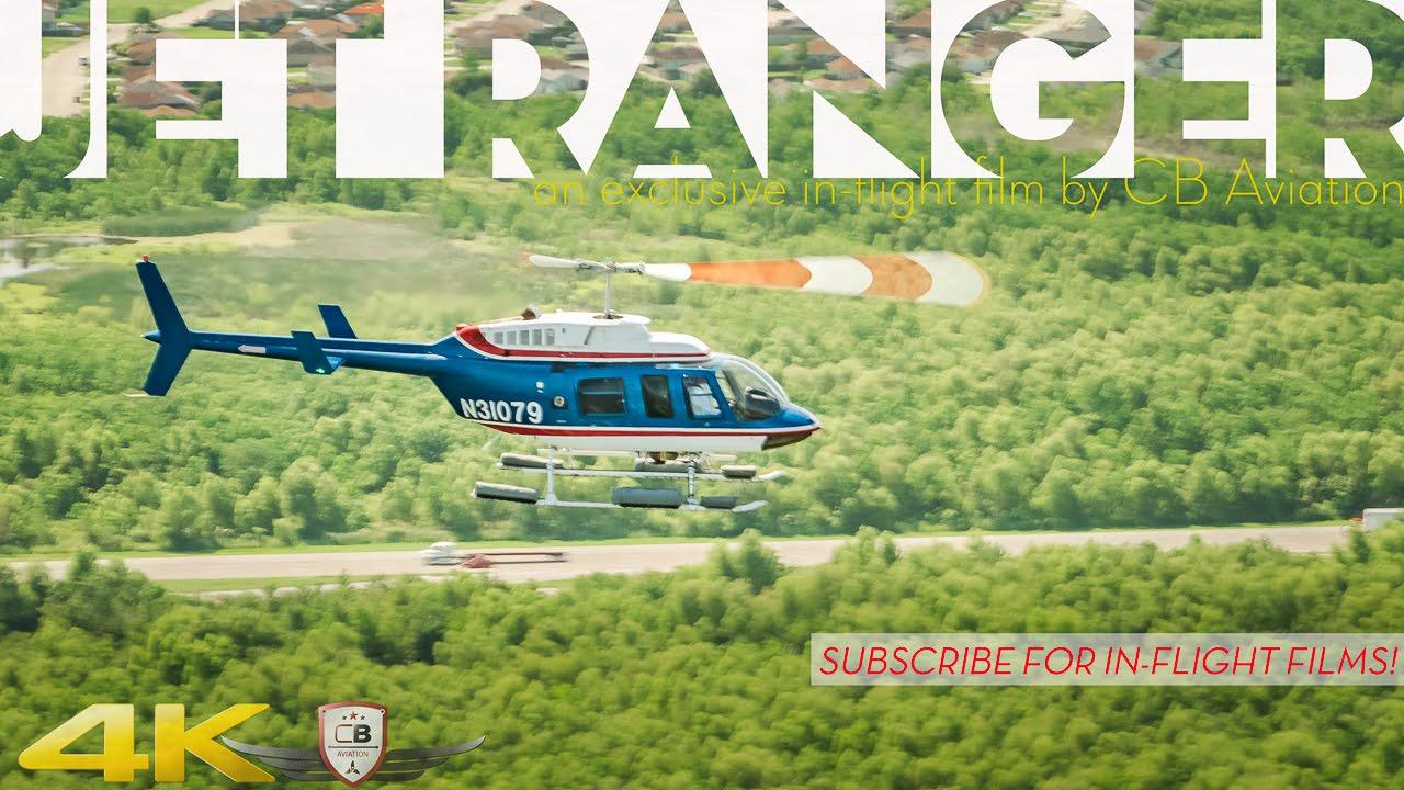 Bell Jet Ranger L3 Air-to-Air, In-Flight Tour