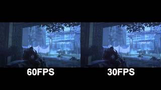 YouTube 60FPS vs 30FPS - Call Of Duty Advanced Warfare