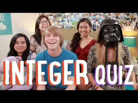 What is an Integer? | YouTube Challenge | PBSMathClub