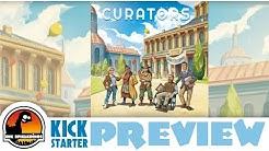Curators Kickstarter Preview Brettspiel DE