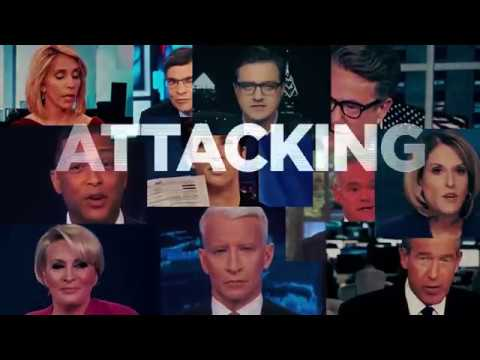 """MEDIA """"ATTACKING OUR PRESIDENT"""" AND """"POLITICIANS STANDING IN THE WAY"""" Let President Trump Do His Job"""