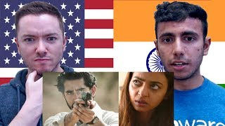 The Wedding Guest Trailer REACTION by American & Indian | Dev Patel