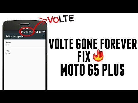 No IMEI & Broken Volte Fix for Moto G5 Plus : LightTube