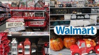 WALMART *CHRISTMAS DECOR & FALL / COME WITH ME