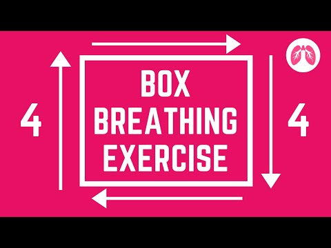 Box Breathing | Calm and Stop Panic | TAKE A DEEP BREATH | Breathing Exercises