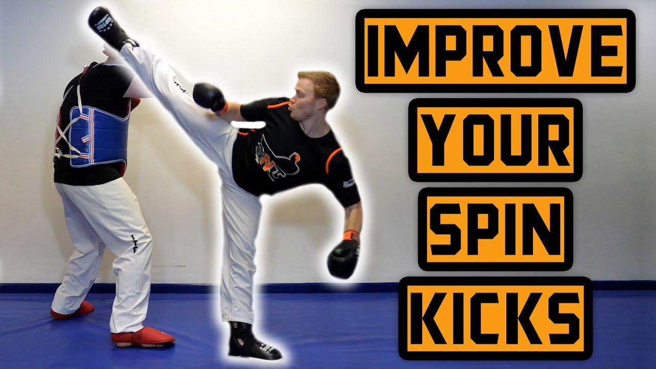 How to Improve Your Spin Kicks (Circular Motion) | GNT Taekwondo Tutorial