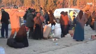 سوريا.. إجلاء 400 مدني إلى ريف حلب الغربي