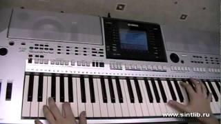 Шерлок Холмс ремикс на синтезаторе, играет мой ученик