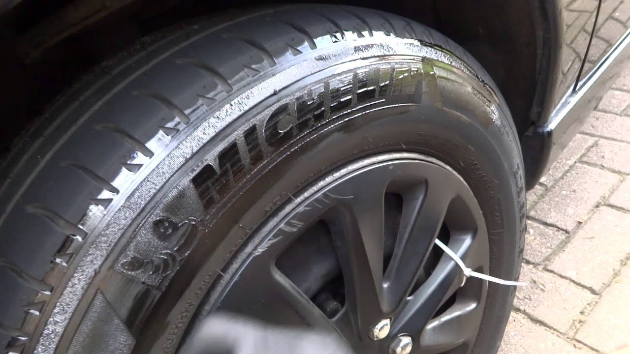 Remove Spray Paint From Car Tire