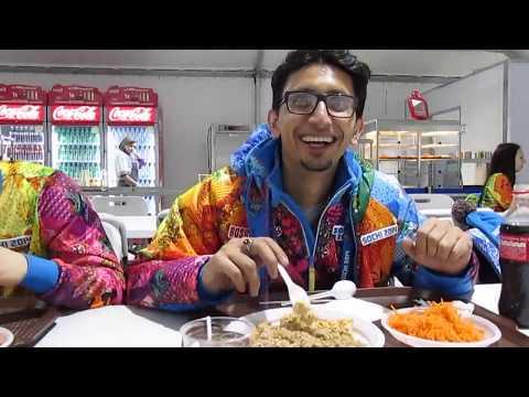 Яамо  в столовой  Авганский друг знакомится.биатлонbiathlon спорт лыжи лыжныегонки russiateam