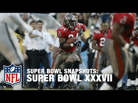 Super Bowl Snapshots: Dexter Jackson Remember Super Bowl XXXVII | NFL