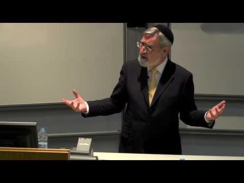 Q&A with Rabbi Jonathan Sacks: Templeton Prize Lecture at St Andrews