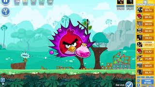 Angry Birds Friends tournament, week 306/1, level 4