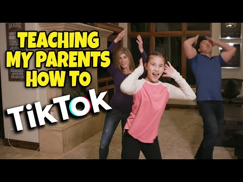 TEACHING MY PARENTS HOW TO TikTok!!! Get Up (Ciara ft. Chamillionaire) TikTok Dance Tutorial