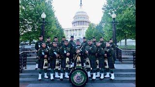 US Border Patrol Pipes and Drums National Police Week 2018