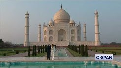 President Trump and First Lady visit the Taj Mahal