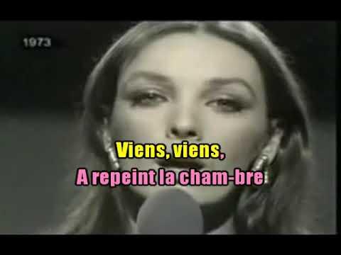 KARAOKÉ Marie Laforêt  Viens, Viens Création JP