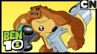 enormesaurio contra simon bloqueo de trnsito ben 10 en espaol latino cartoon network