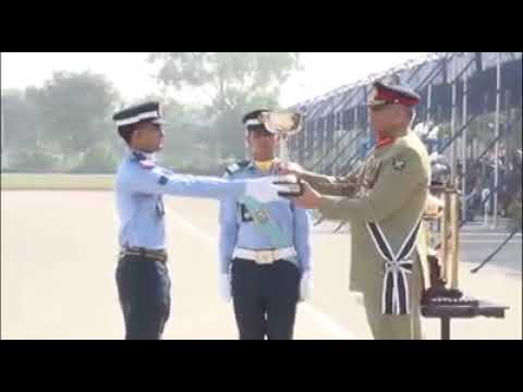 Passing out Parade of 138 GD (P), 84 Engineering, 94 Air Defence held at PAF Academy