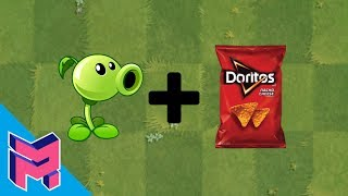 Plants vs Zombies Fusion Hack Animation Peashooter Doritos